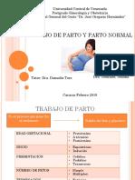 Seminario Tdp y Parto Normal Listo