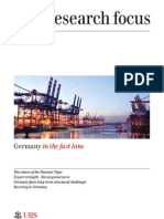Germany Evolving Markets