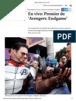 Avengers_ Endgame_ Premier en Vivo