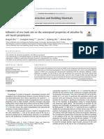 Paper 7 - Rha on Waterproof Properties of Ultrafine Fly Ash