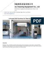 Leisuwash 350 Touchless Wash System Brochure 2018