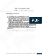 Open Catalog Interface