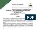 Análisis de Las Filtraciones No Controladas en El Dique de La Divisoria y Pantalla Km 8 HVC