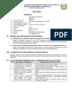 Silabo Ofimatica 2018-II