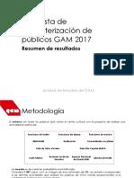 Valentina Torres Encuesta Caracterizacion Publicos GAM