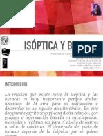 Isóptica y Butacas