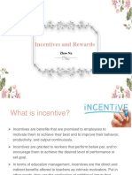Incentives and Rewards