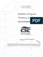 2019 01 10 Bulletin of Vacant Positions (1)