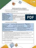 Guia de Actividades y Rubrica de Evaluación-Evaluación Final