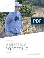 Hunter J. Crane - Marketing Portfolio