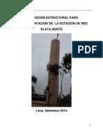 Evaluación Estructural Playa Norte