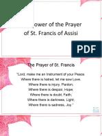 01 - Danny Gorgonia - Prayer of Saint Francis