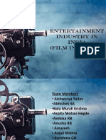 Entertainment Industry in India