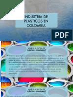 Industria de Plasticos en Colombia Terminado