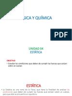 Unidad 04 Estática- Mecanica