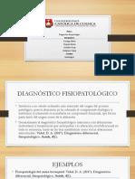 diagnostico patologico