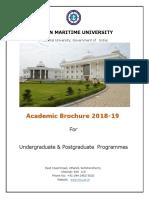 Academic broucher for IMU DNS side deck fleet