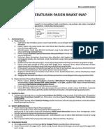 1. RM.1.12 - Peraturan Pasien Rawat Inap