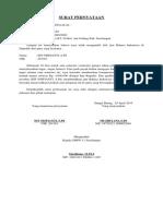 Surat Pernyataan Muzriyani
