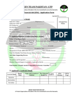 GFA Application Form