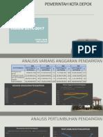 Analisis Pendapatan Pemkot Depok Tahun 2014 s.d 2016-LISNA LIANA-NIU 432525