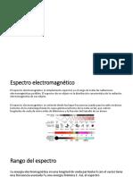 Espectro electromagnético EXPO321