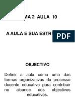 A Aula. Sua Estrutura Powerpoint - Copy