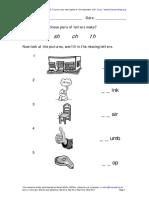 English Level K2 - Digraphs