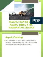 Filsafat K3 ADARO