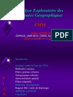 Analyse Et Exploration Des Données Géographiques