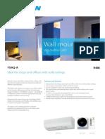 FXAQ-A Wall Mount Unit_948