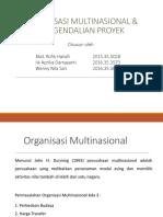 Materi Organisasi Multinasional Dan Manajemen Pengendalian Proyek-1