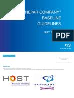 A Sonepar Company Baseline Guidelines
