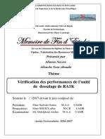 Vérification des performances de l'unité de dessalage de RA1K.pdf