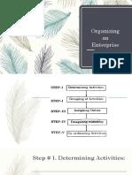 Organizing an Enterprise