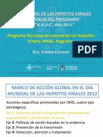 Dra Coronel Día Mundial Hepatitis UC 2015