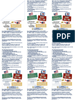 Sample flyers for marketing of training activities