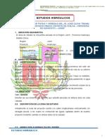 Estudio Hidrologio, Diseño de Cunetas