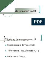 Tecnicas de Muestreo IR
