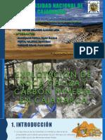 Explotación de Caliza y Carbon en Cajamarca