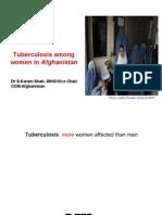 Tuberculosis Among Women in Afghanistan