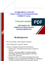 Financial Modeling - CMU - Compton 2-2-18