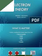 Electron Theory