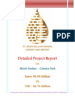 Detailed Project Report SRAM Studios Euros 50M