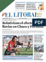 El Litoral Mañana 23-04-2019