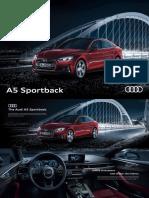 Audi A5 Brochure MY 297x198mm APR 2019 FA LoRes