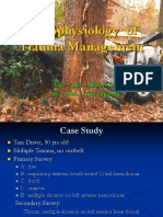 Pathophysiology of Trauma Management