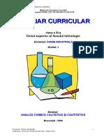 CHIMIE Auxiliar Analiza Chimica Calitativa Si Cantitativa a Buchman