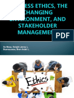 Lesson 1. Business Ethics