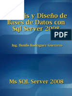 SQL Server 2008 - Sesión #1b - Ms SQL Server 2008 - Introduccion